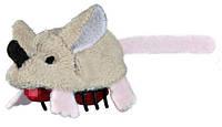 """Бегающая игрушка """"Крейзи Маус"""" для кошек, мышка, плюш, 5,5см"""