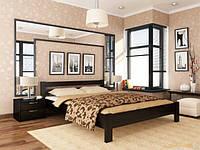 Деревянная двуспальная кровать Рената 120
