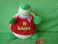 Копилка черепаха (25см), плюшевые мягкие игрушки, игрушки для детей, игрушки оптом