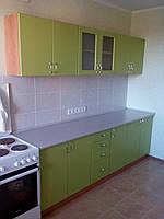 Кухня с фасадом МДФ крашенный 2.4 метра