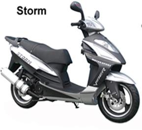 Запчасти для скутеров Storm 50, 150, NEW (Viper)