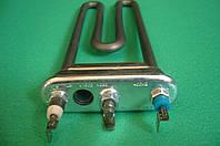 """ТЭН для стиральной машины """"Ariston"""" и др. 1.9 кВт из нержавеющей стали, c отверстием под датчик (Италия)"""