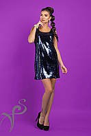 Платье-майка из паетки Disco