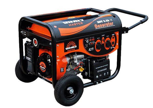 Генератор бензиновый Vitals Master EST 5.8bа( автоматика), фото 2