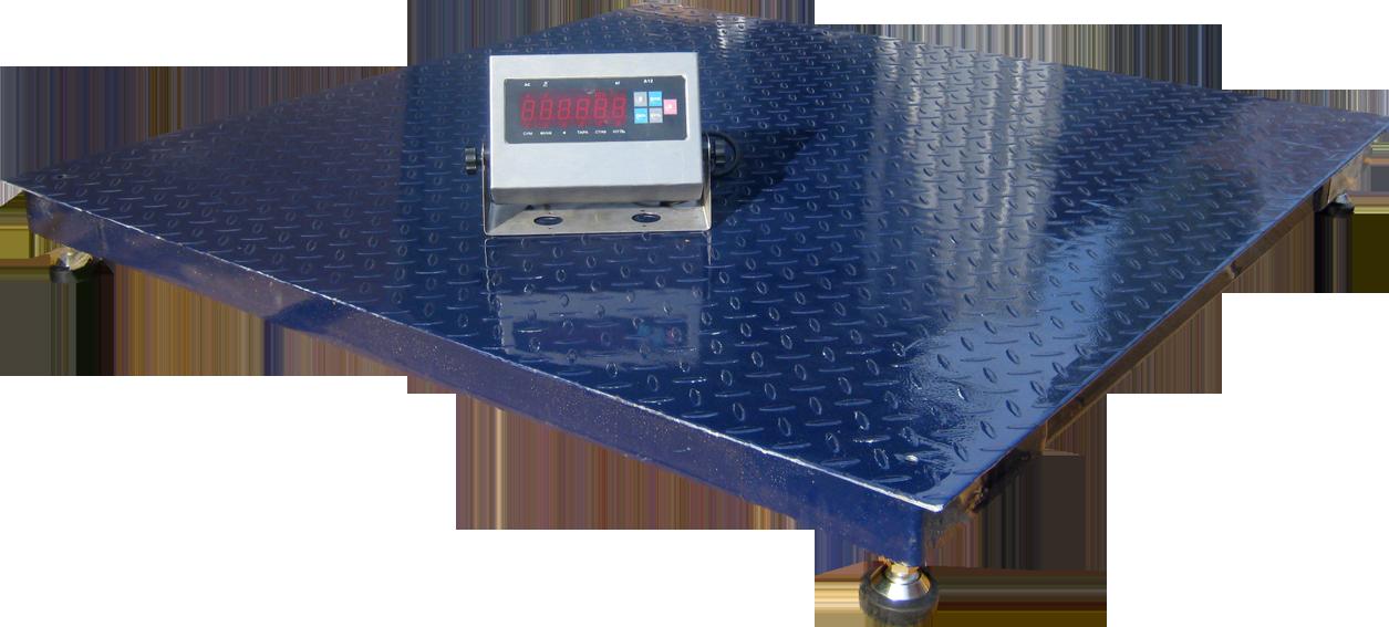 Платформні ваги ЗЕВС Преміум (1200х1200см) 5000 кг