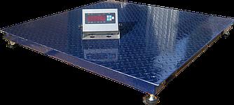 Платформенные весы ЗЕВС Премиум (1200х1200см) 5000 кг