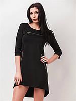 Молодежное женское платье со шлейфом, рукава три четверти 90159, фото 1
