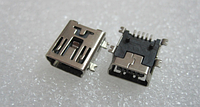 Mini USB гнездо разъем 5pin