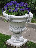 Вазон садовый для цветов «Византия» бетонный