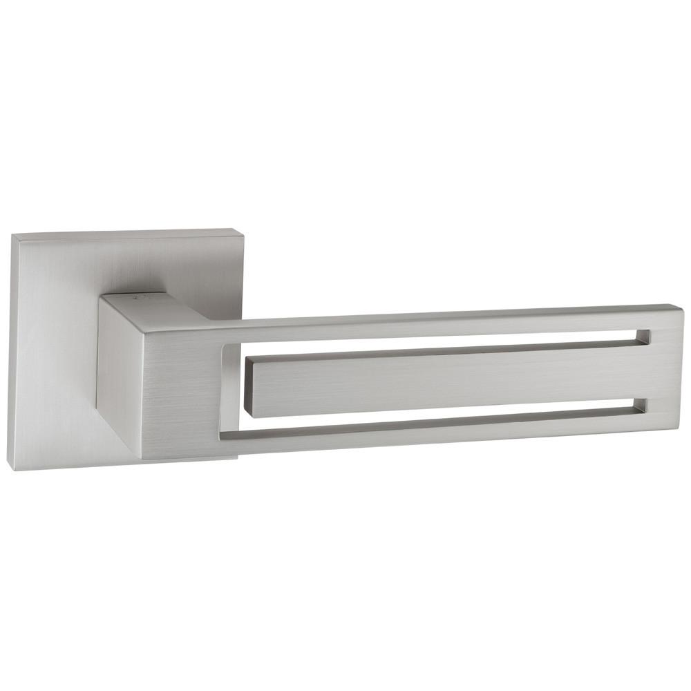 Итальянская дверная ручка Oro&Oro 023-15E SCH (матовый хром)