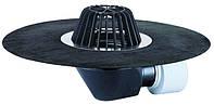 HL64.1H Воронка с листвоуловителем, с полимербитумным полотном Ø500 мм, с электроподогревом