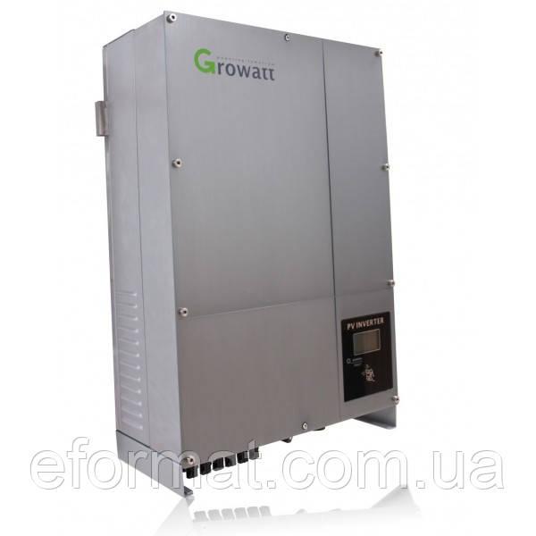 Сетевой солнечный инвертор Growatt 10000UE 10 кВт