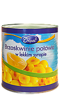Персик консервированный кусочками 400 гр Dripol Польша