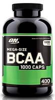 Optimum BCAA 1000 caps 400 caps, фото 1