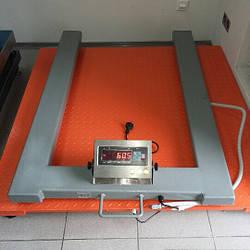 Палетні ваги Зевс ВПЕ-1000-4 Н1208