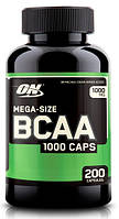 Optimum BCAA 1000 caps 200 caps, фото 1