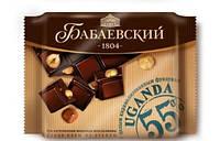 Шоколад Бабаевский  с карамелизированным фундуком  кондитерской фабрики Бабаевский 90 грамм