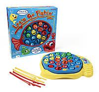 Игра настольная  Рыбалка интерактивная семейная Let's Go Fishin'