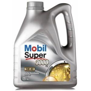 Mobil Super 3000 5W-40  налив