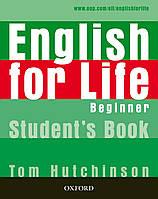 ENGLISH FOR LIFE BEG SB