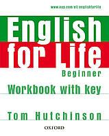 ENGLISH FOR LIFE BEG WB+K