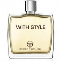 "Туалетная вода в тестере SERGIO TACCHINI ""With Style  (ORIGINAL)"" 100 мл"