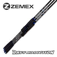 "Спиннинг ZEMEX ""BASS ADDICTION"" CASTING 1,98 м. 3,0-15,0 гр.,""BASS ADDICTION"" CASTING"