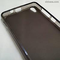 Силиконовый чехол для Lenovo S850 (серый)