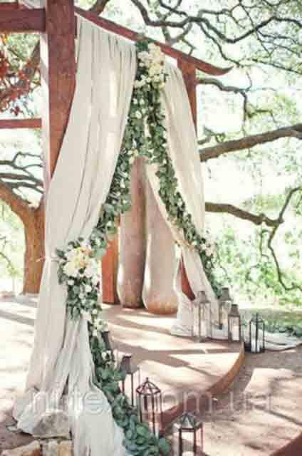 Украшение зала на свадьбу