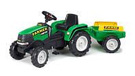 Детский трактор на педалях Falk 1022AB Farm Power Max