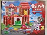 Конструктор блочный Super House