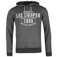 Lee Cooper текстурированные All Over Print Over The Mens Head HOOD