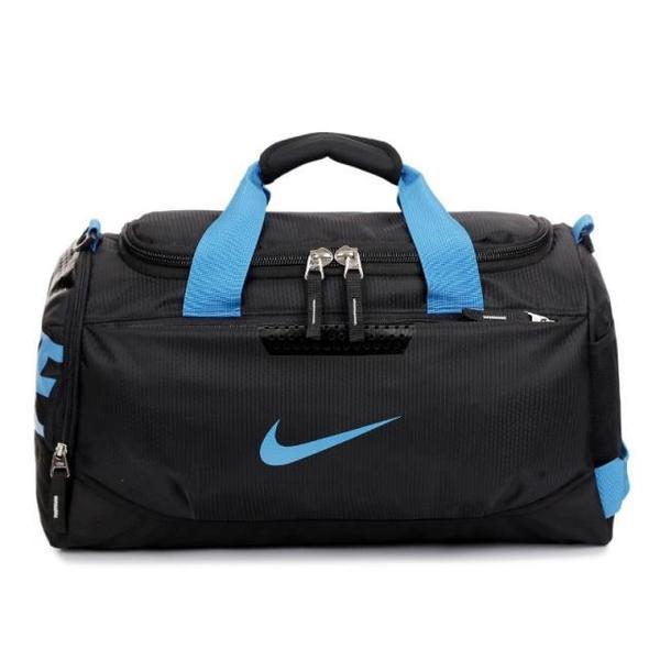 b3f384499eb0 Спортивная Сумка Nike Черная с Синим Логотипом (реплика) — в ...