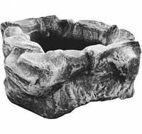 Вазон бетонный садовый «Каменный цветок»