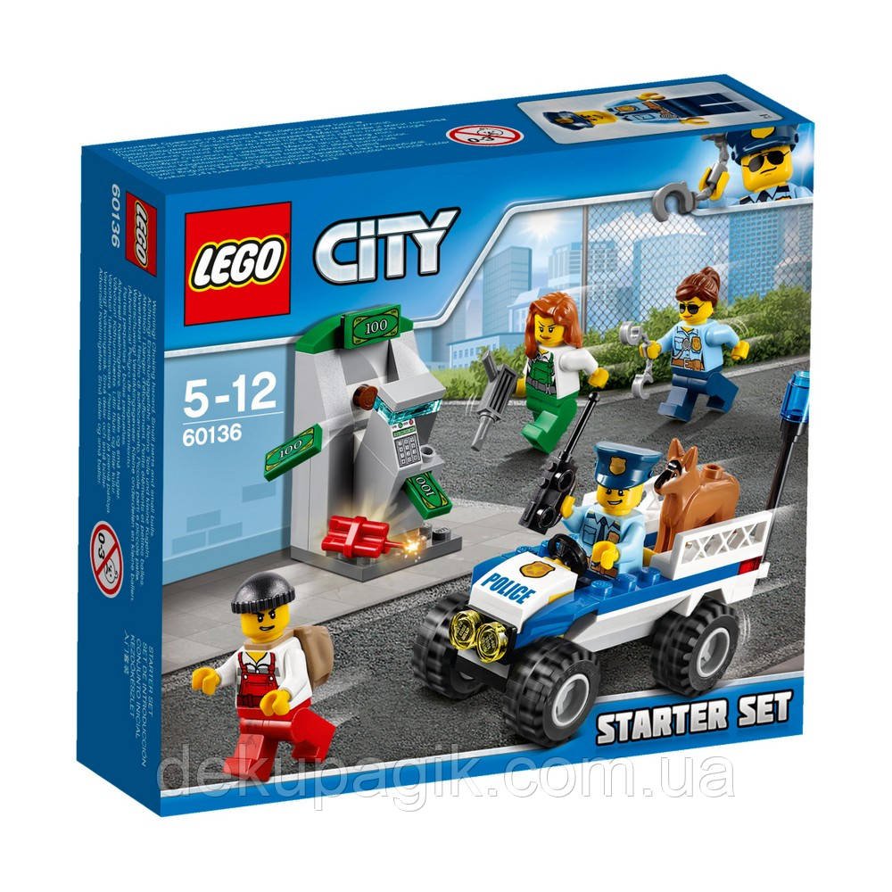 Lego City Набор для начинающих «Полиция» 60136
