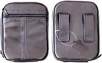 Кобура-сумка кожаная поясная (ПМ,Форт-12, РР, ПГШ, Эрма-459 и др.)