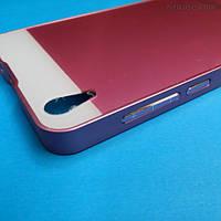 Алюминиевый чехол-бампер для Lenovo S850 (розовый)