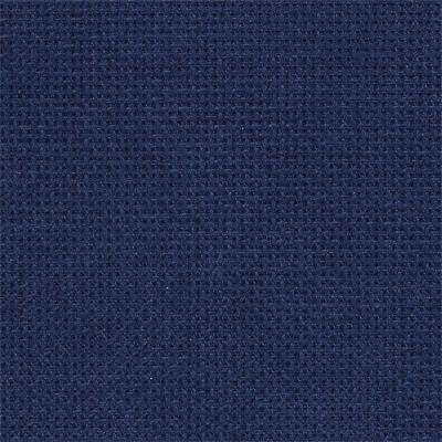 Канва Zweigart 3793/589 Fein-Aida 18 карат. Navy, Темно-синій