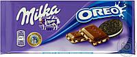 Шоколад MILKA OREO ( c печеньем ОRЕО) Швейцария 100г