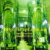 Цилиндрический вертикальный резервуар из нержавеющей стали