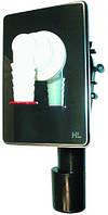 HL400  Сифон для стиральной и посудомоечной машины DN40/50 - 160х110мм