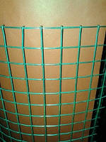 Сетка сварная оцинкованная, Ячейка 25х25 мм. Диаметр 2,0 мм.
