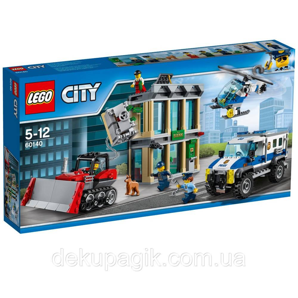 Lego City Ограбление на бульдозере 60140