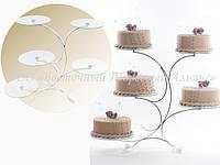 Подставка для тортов —  30148 — 5ти ярусная Modekor