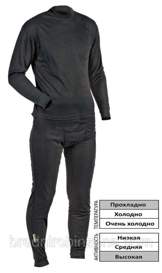 Термобелье (нательное ) Norfin Thermo Line (XXL 60) черное Норфин - Бредни Робинзона  в Харькове