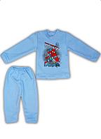 "Детский домашний костюм ""Spiderman"",капитон,р.28,30,32,34"