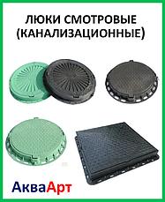 Люки смотровые (канализационные) полимерные