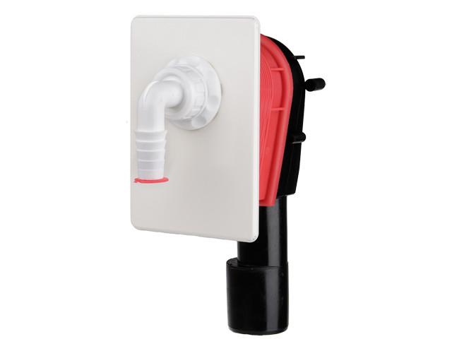HL400.WE  Сифон для стиральной и посудомоечной машины DN40/50