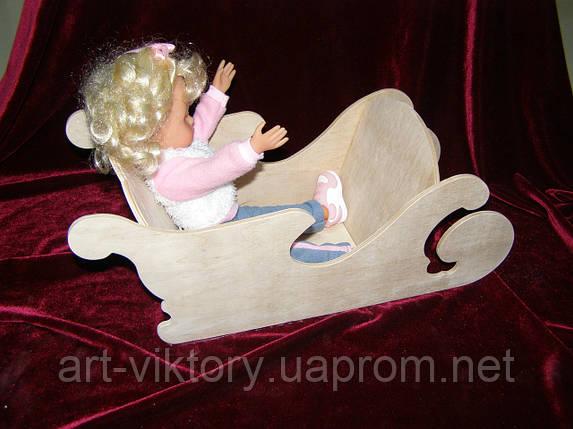 Сани кукольные, фото 2