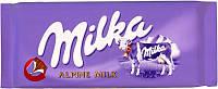 Шоколад MILKA Alpine Milk(альпийское молоко) Швейцария 100г